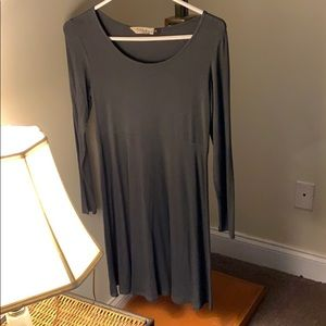 Excellent used condition gray jersey tunic/dress